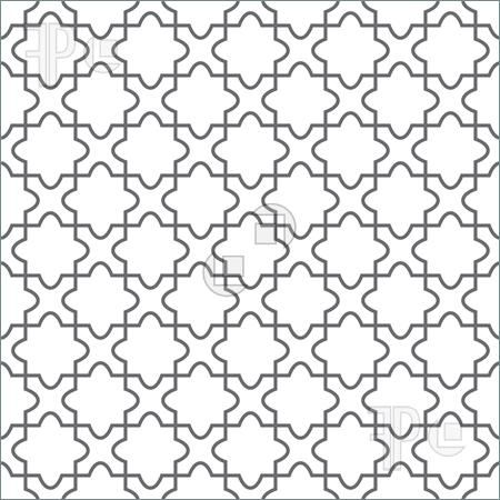 Abstract Patterns: Simple Geometric Vector Pattern   Ornament On The Floor