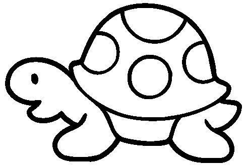 Tortuga Animalitos Dibujos Para Colorear Tortuga Para Colorear