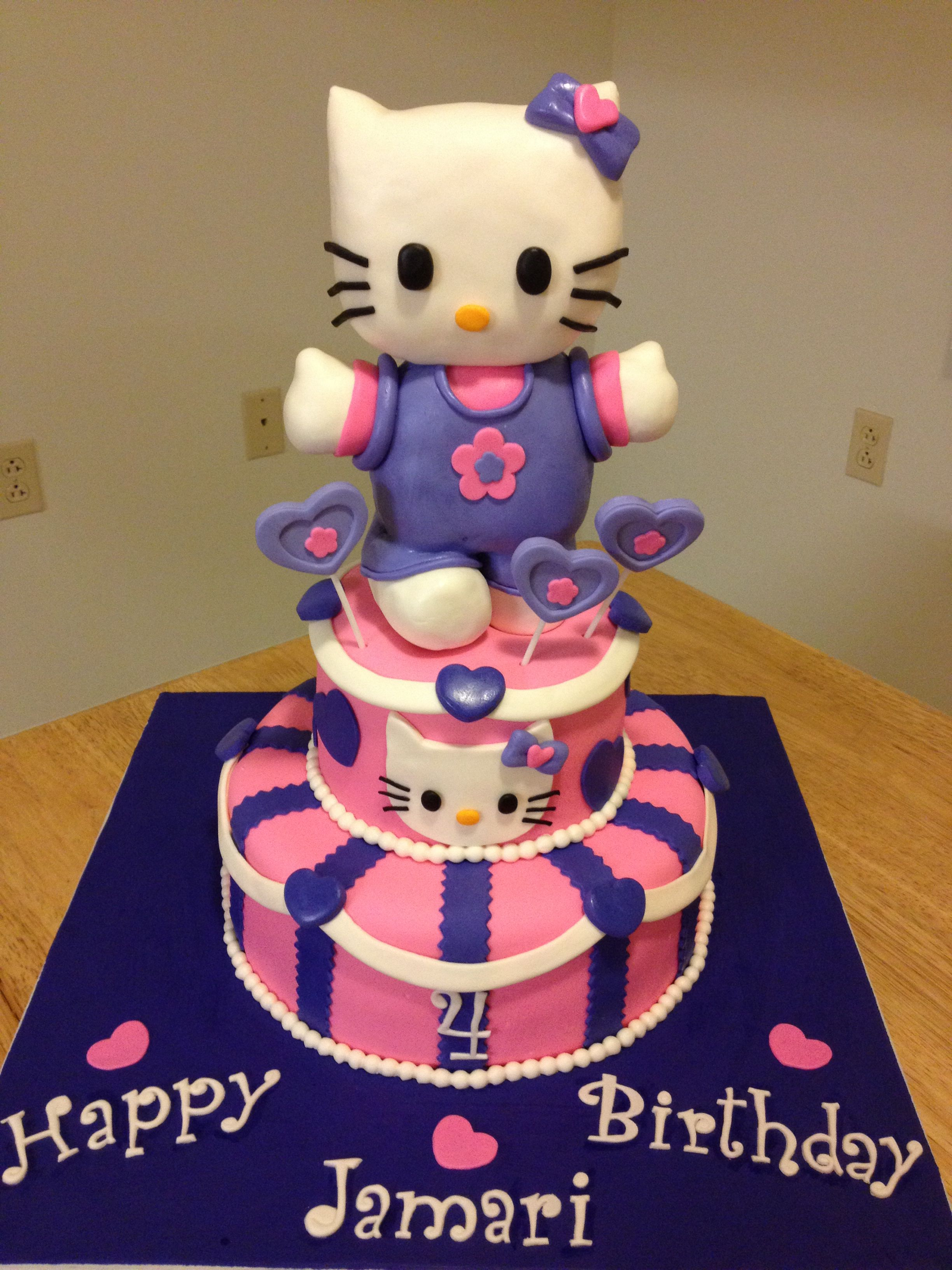 Angelas cake creations hello kitty cake cake hello