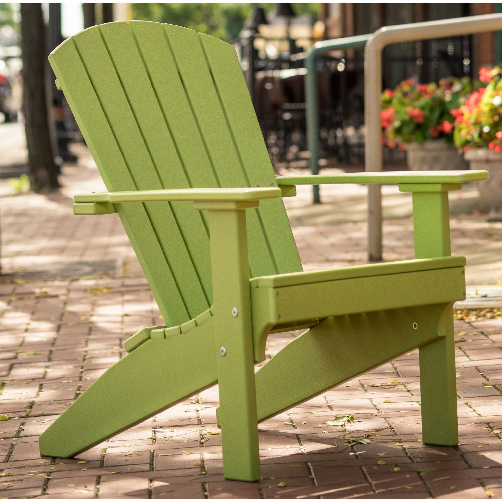 Luxcraft recycled plastic lakeside adirondack chair chairrecicle