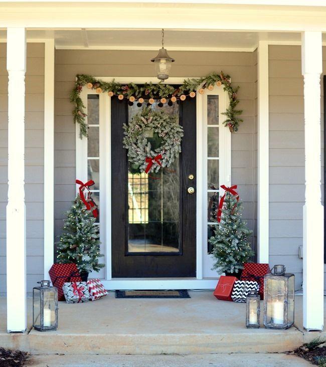 Farmhouse Christmas Front Porch