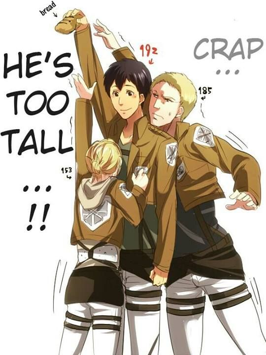 Pin by Ress Uy on SHINGEKI NO SHIT THEY'RE TALL | Attack on