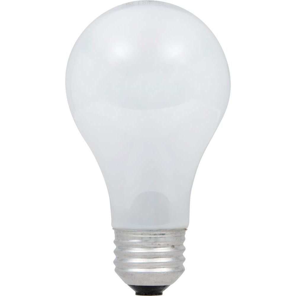 Ecosmart 60W Equivalent Eco-Incandescent A19 Soft White Dimmable Light Bulb (16-Pack)
