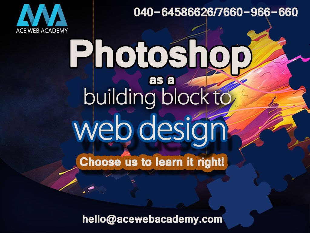 Ace Web Academy Is Leading Web Designing Training Institute In Hyderabad For Web Designing Course Contact Us O Web Design Tips Web Design Web Design Training