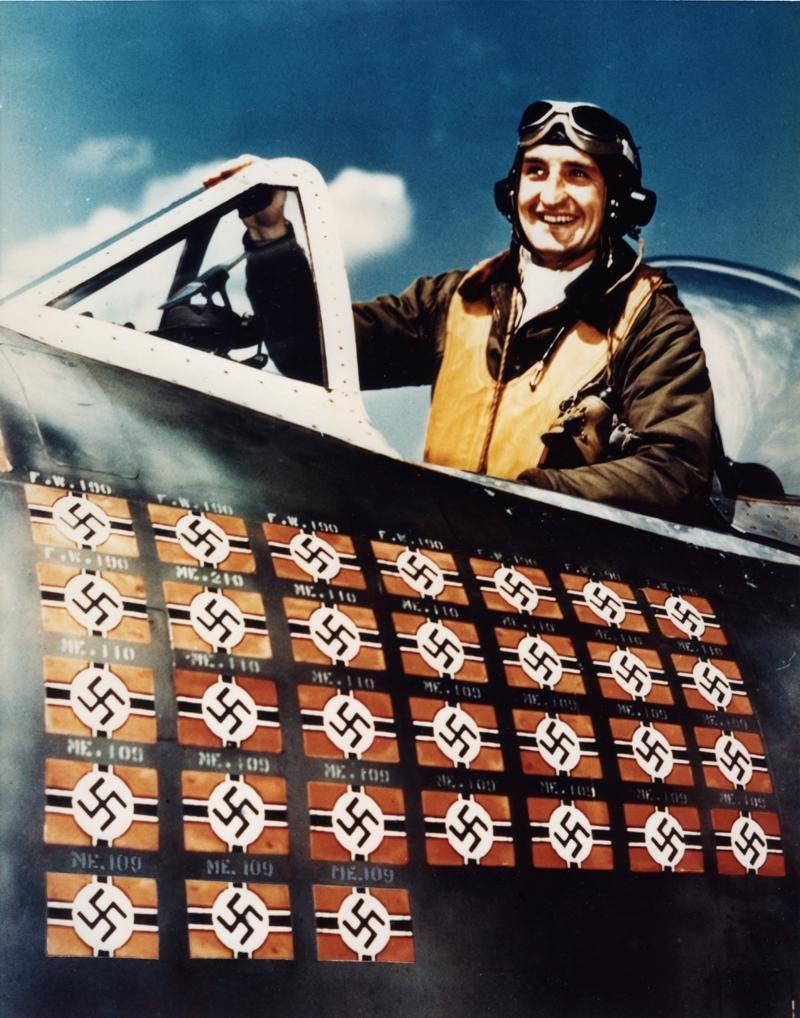 Fighters Europe Com: Major 61st FS USAAF 1944 Francis