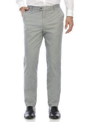 Calvin Klein Men S Dressy Refine Stretch Chino Slim Fit Vh Lt Grey 34 X 34 Slim Fit Chino Pants Slim Fit Chinos Men Shirt Style