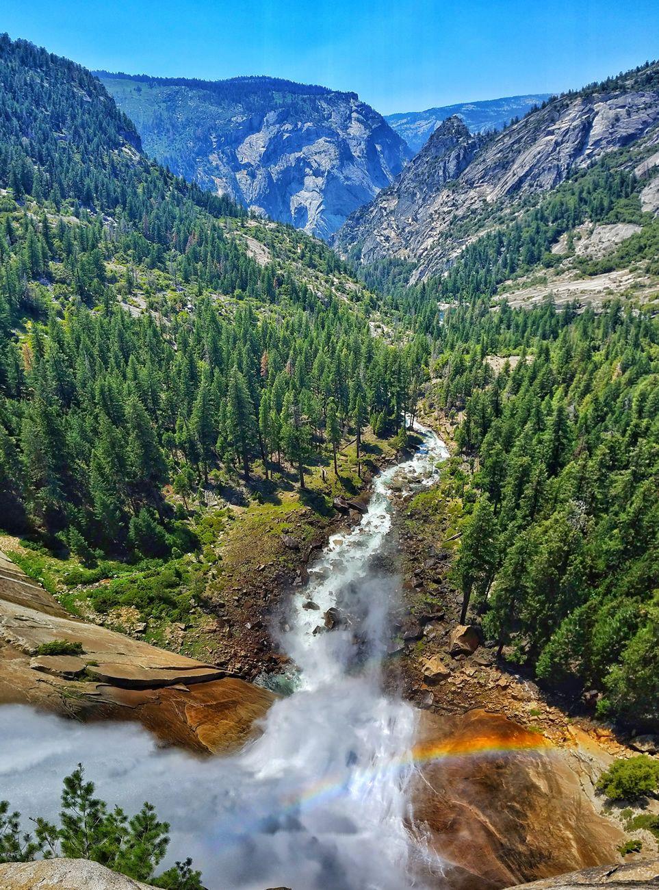 Mist Trail Yosemite National Park California EUA