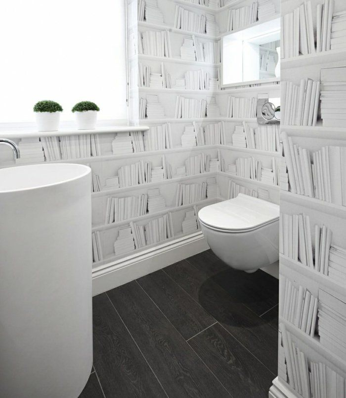 badezimmer gestalten wandgestaltung ideen wanddeko ideen - badezimmer gestalten ideen