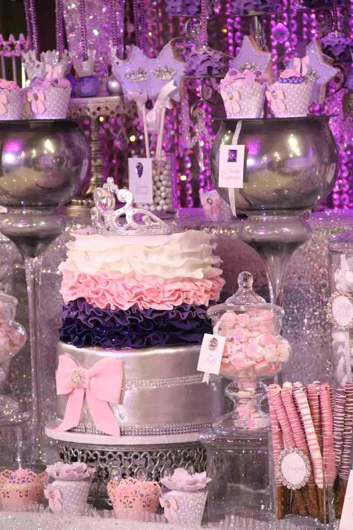 Glamorous Princess Themed Birthday Party Princess themed birthday
