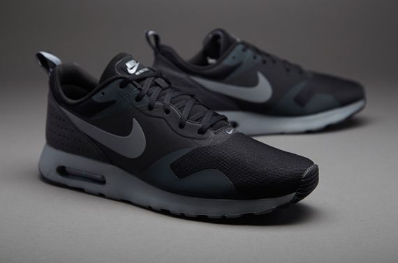 Mens Shoes - Nike Sportswear Air Max Tavas - Black / Cool Grey / Anthracite