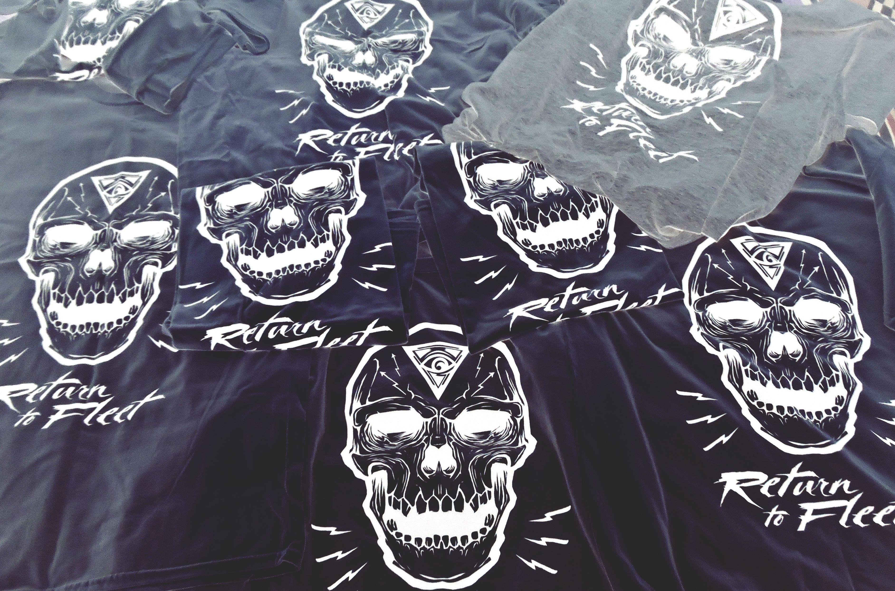 HydroSkull Tees #ReturntoFleet #Invasion #Skulduggery #Brand #Geek #ScreenPrint #Studio #Blog #GeekArt #Tshirts #Products #Website #Life