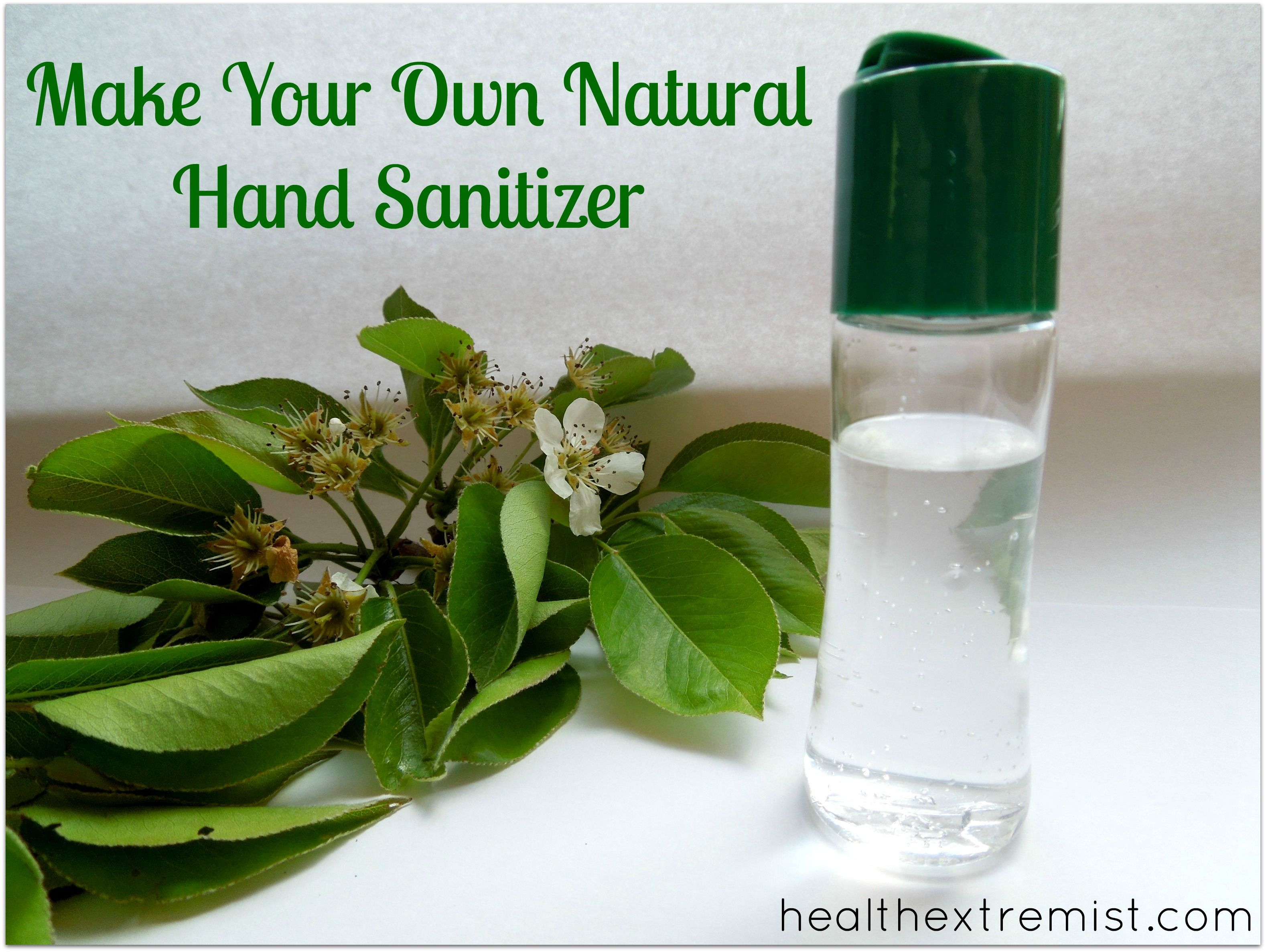 How To Make Hand Sanitizer Naturally Natural Hand Sanitizer