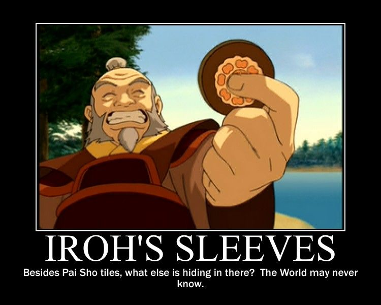 Iroh's Sleeves by kamkam225 *Am I the only one that heard