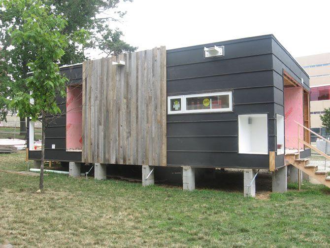 Osu Solar House Exterior House Siding Modern Siding Ranch House Remodel