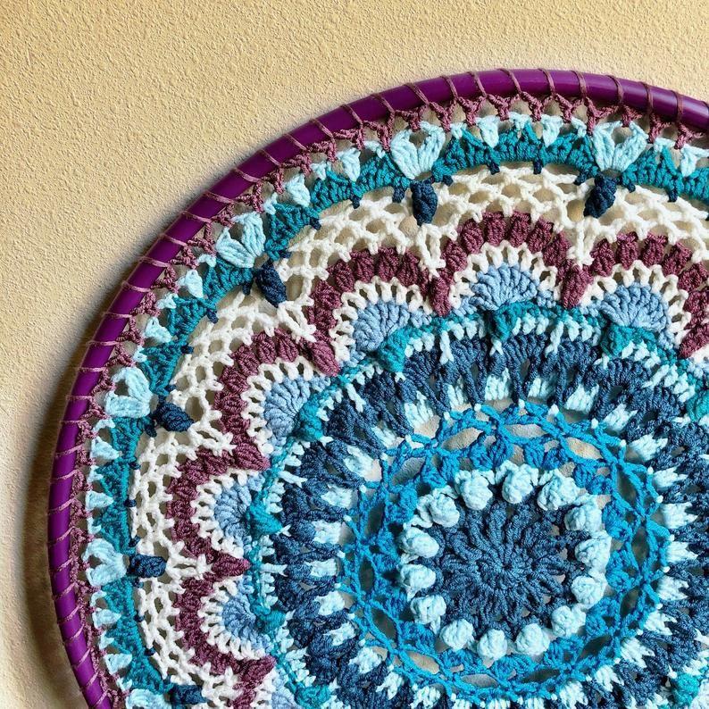 Namaste Crochet Wall Hanging Pattern