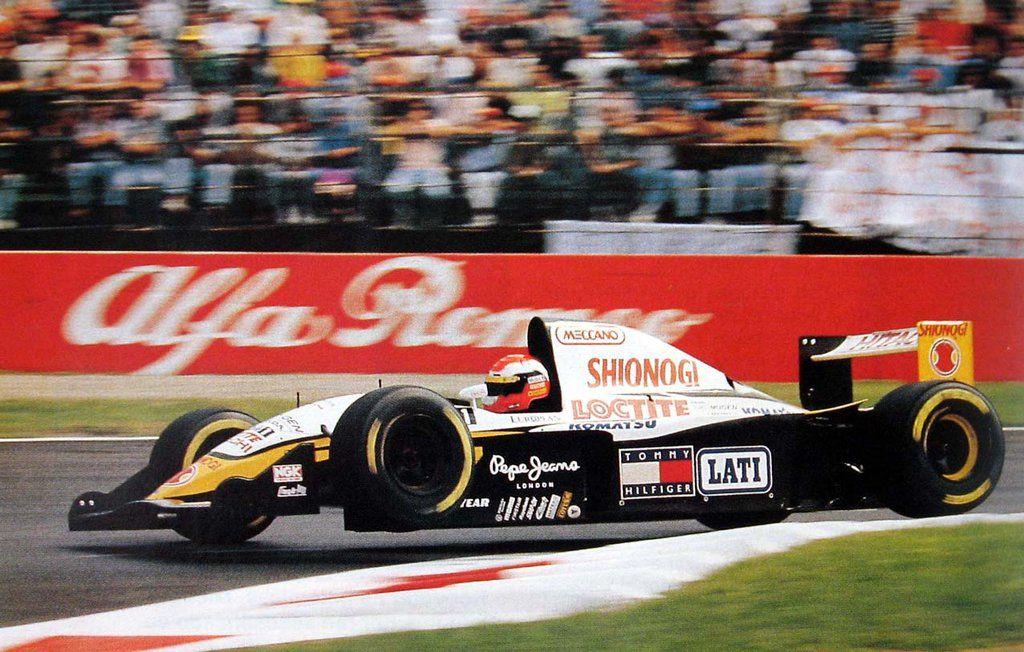 Johnny Herbert (Team Lotus), Lotus 109 Mugen Honda MF