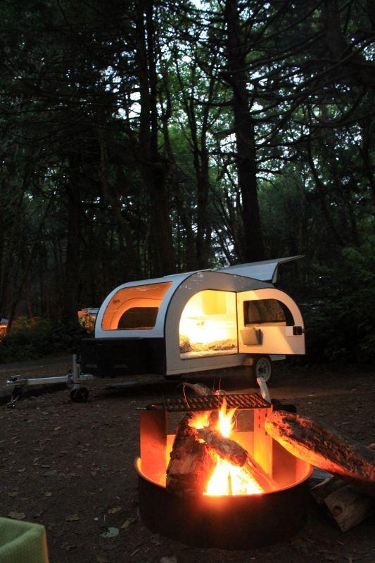RENT | DROPLET tear drop camping trailer | Pinterest