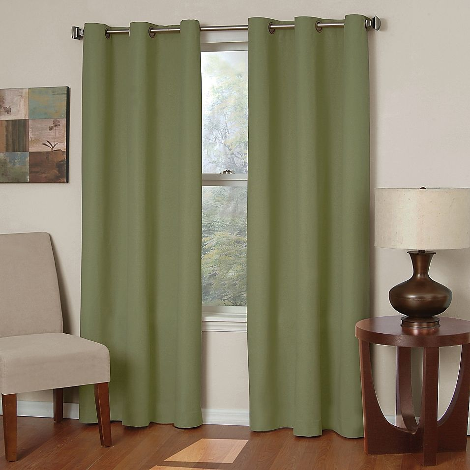 Solarshield Mandalay Microfiber Grommet Room Darkening Window
