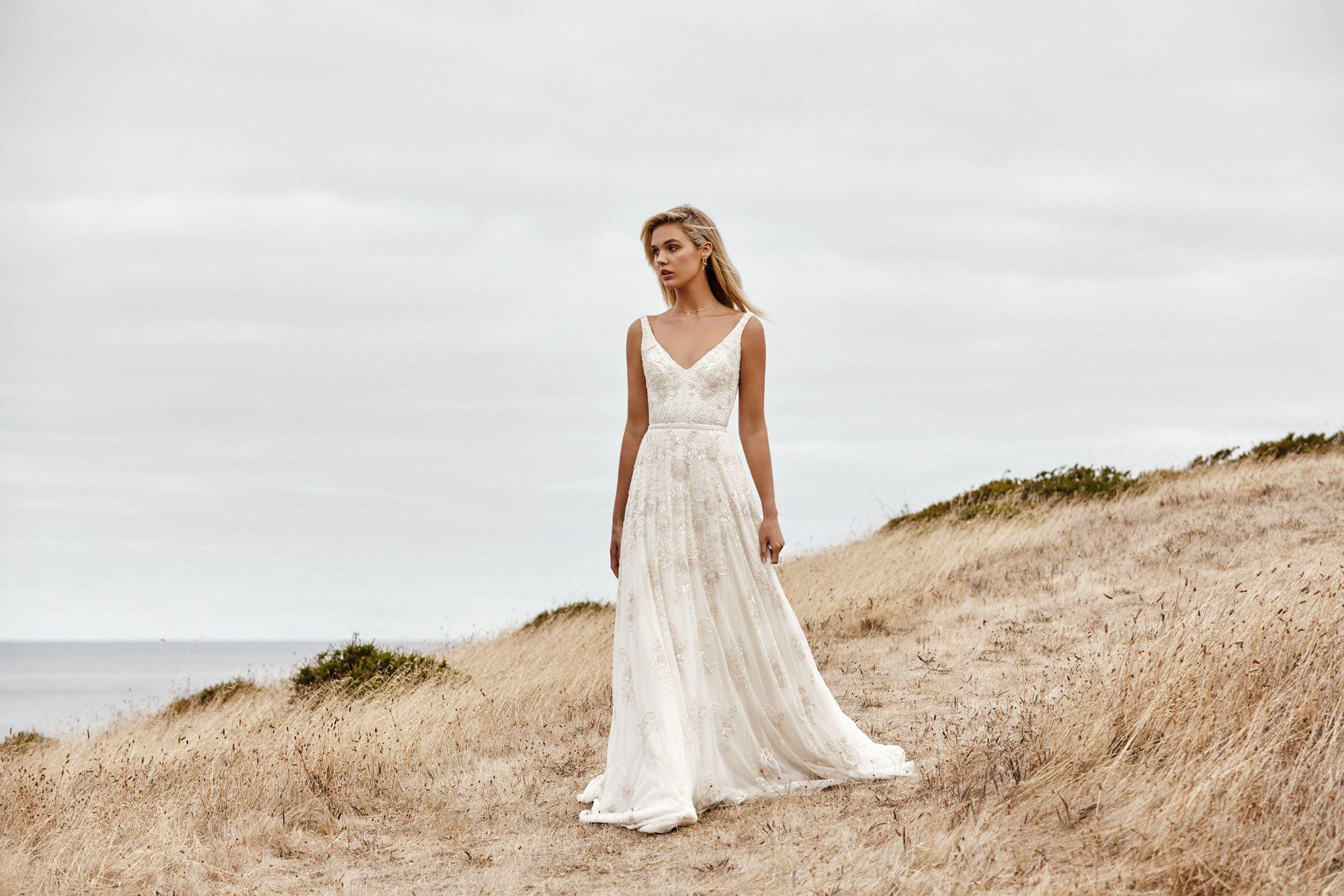 Beatrice Beaded wedding gowns, Karen willis holmes