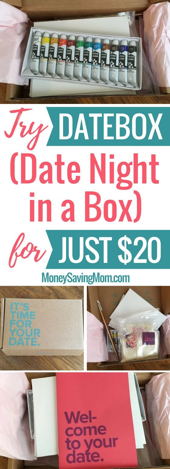 Try Datebox (date night in a box!) for $20 with this Datebox coupon code!