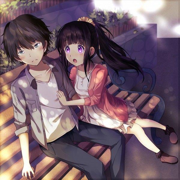 ANIME ART Anime Couple. . .romantic. . .love. . .sweet