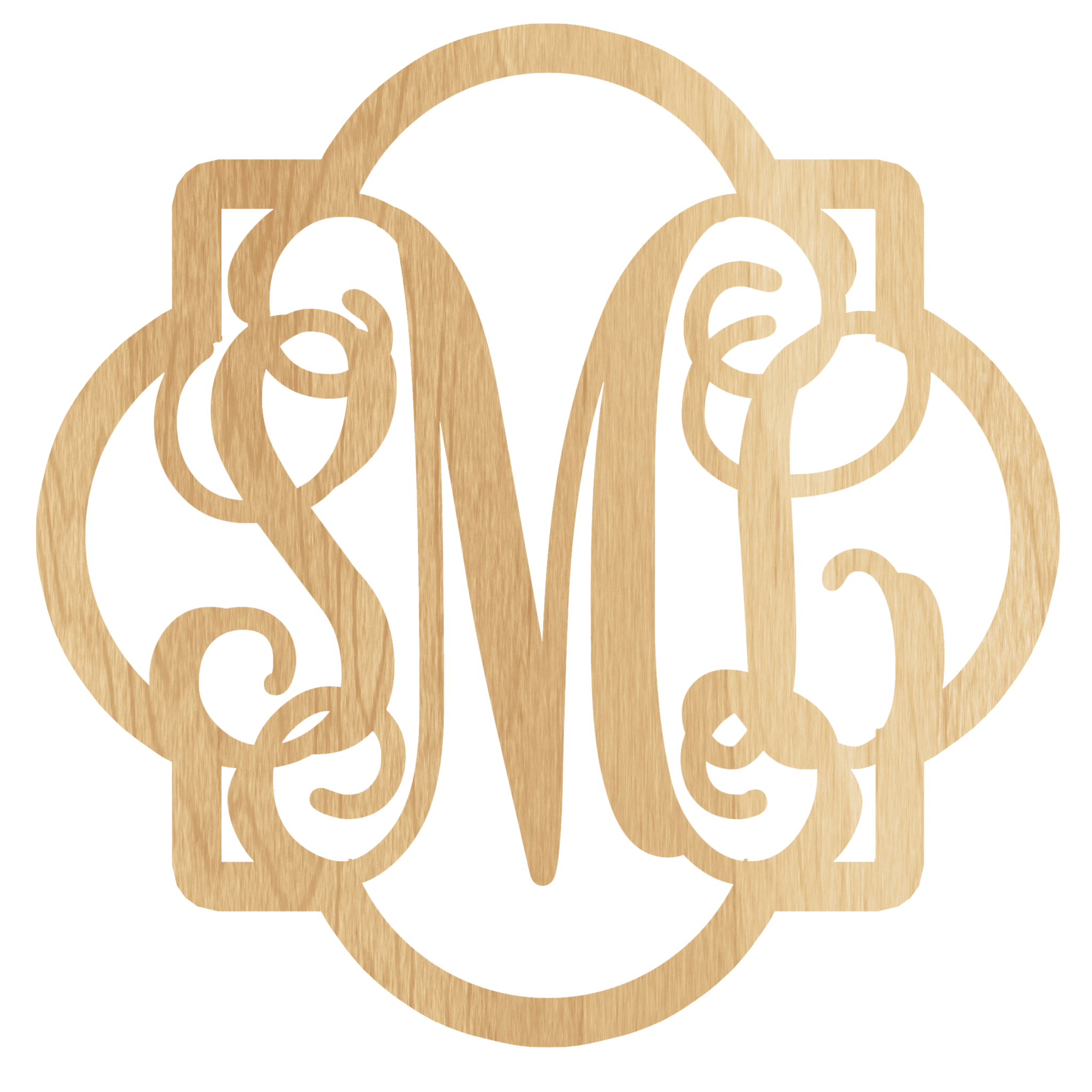 united monogram u0026 39 s wooden monograms come in many different sizes