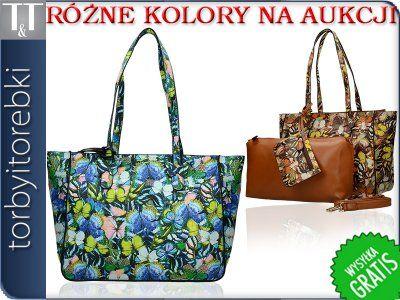 Torebka Damska Kuferek 3w1 Shopper Lato Skora F987 6176961908 Oficjalne Archiwum Allegro Shoulder Bag Tote Bag Tote