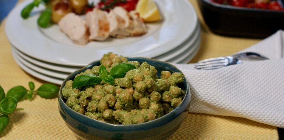 Kylling med pestokikerter – Berit Nordstrand