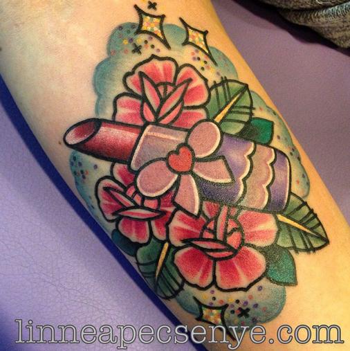tattoo by Linnea Pecsenye