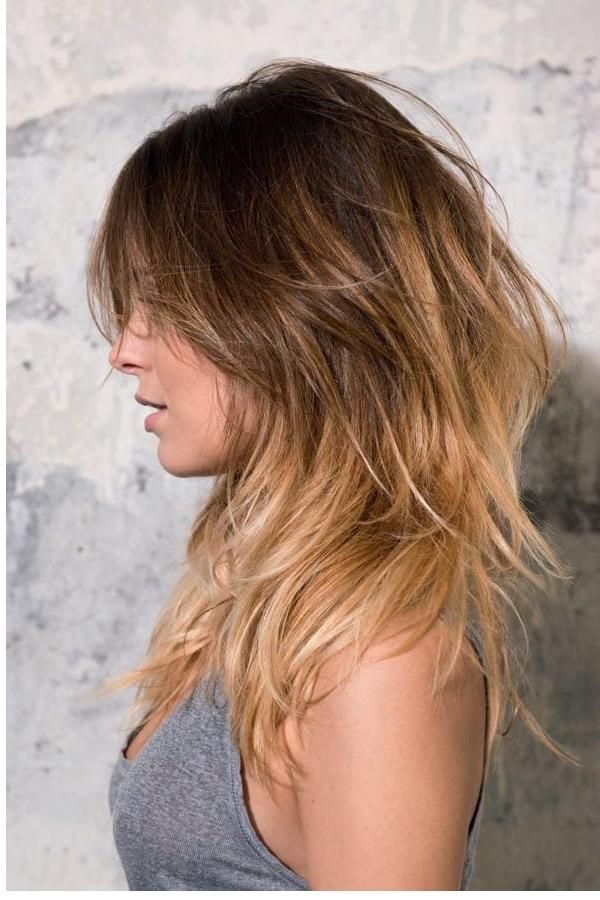 Moderne frisuren damen halblang