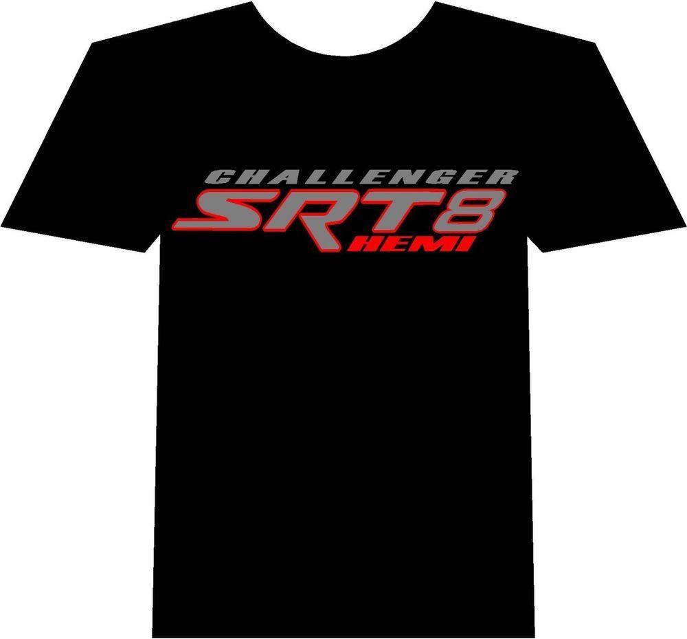 HOT DODGE BLACK T SHIRT MENS CHARGER CHALLENGER SRT RT HEMI SHIRT Size S-2XL##$