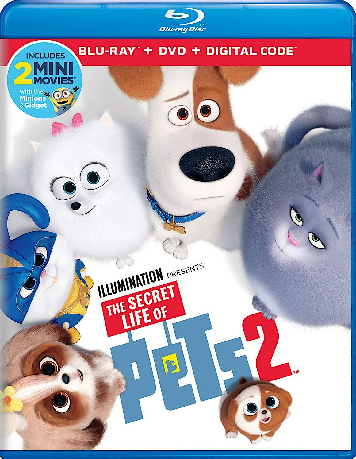 The Secret Life Of Pets 2 Blu Ray Universal Studios Secret Life Of Pets Secret Life The Secret