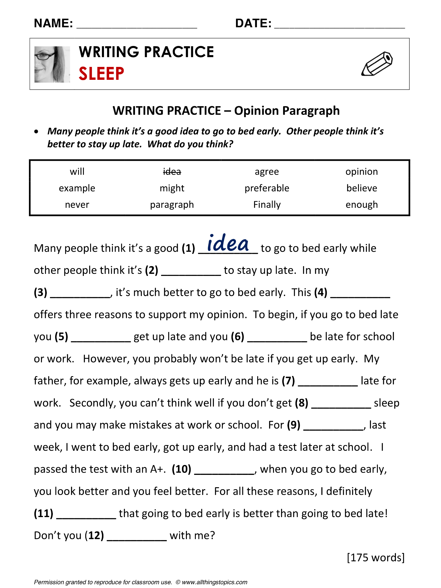 Sleep And Dreams English Learning English Vocabulary