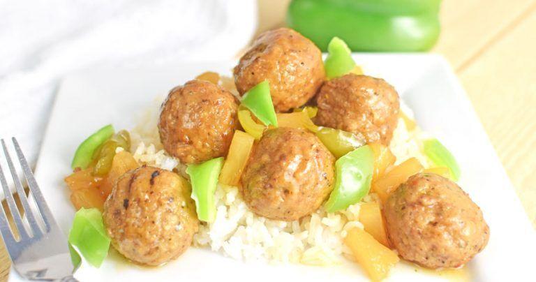 Slow Cooker Hawaiian Meatballs Freezer Meal Recipe