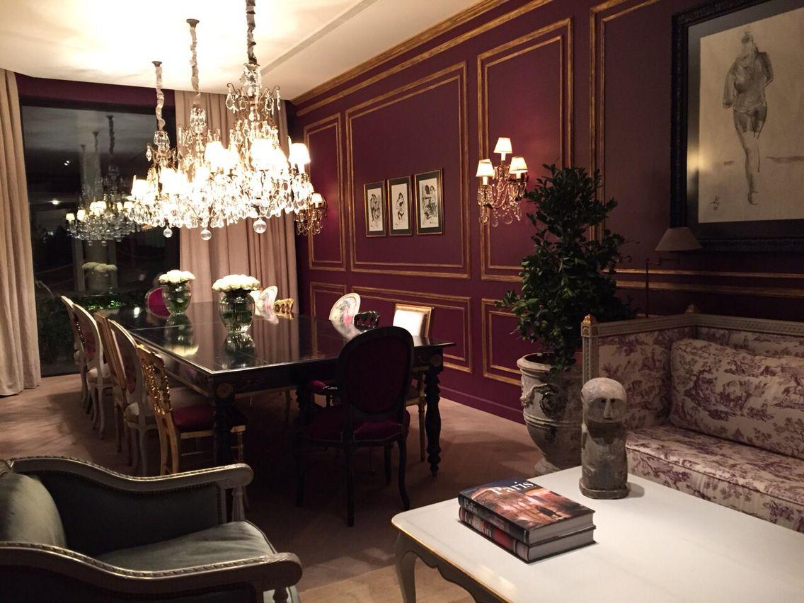 French Style Privet Restaurant In Baku Design By Nader Mobargha