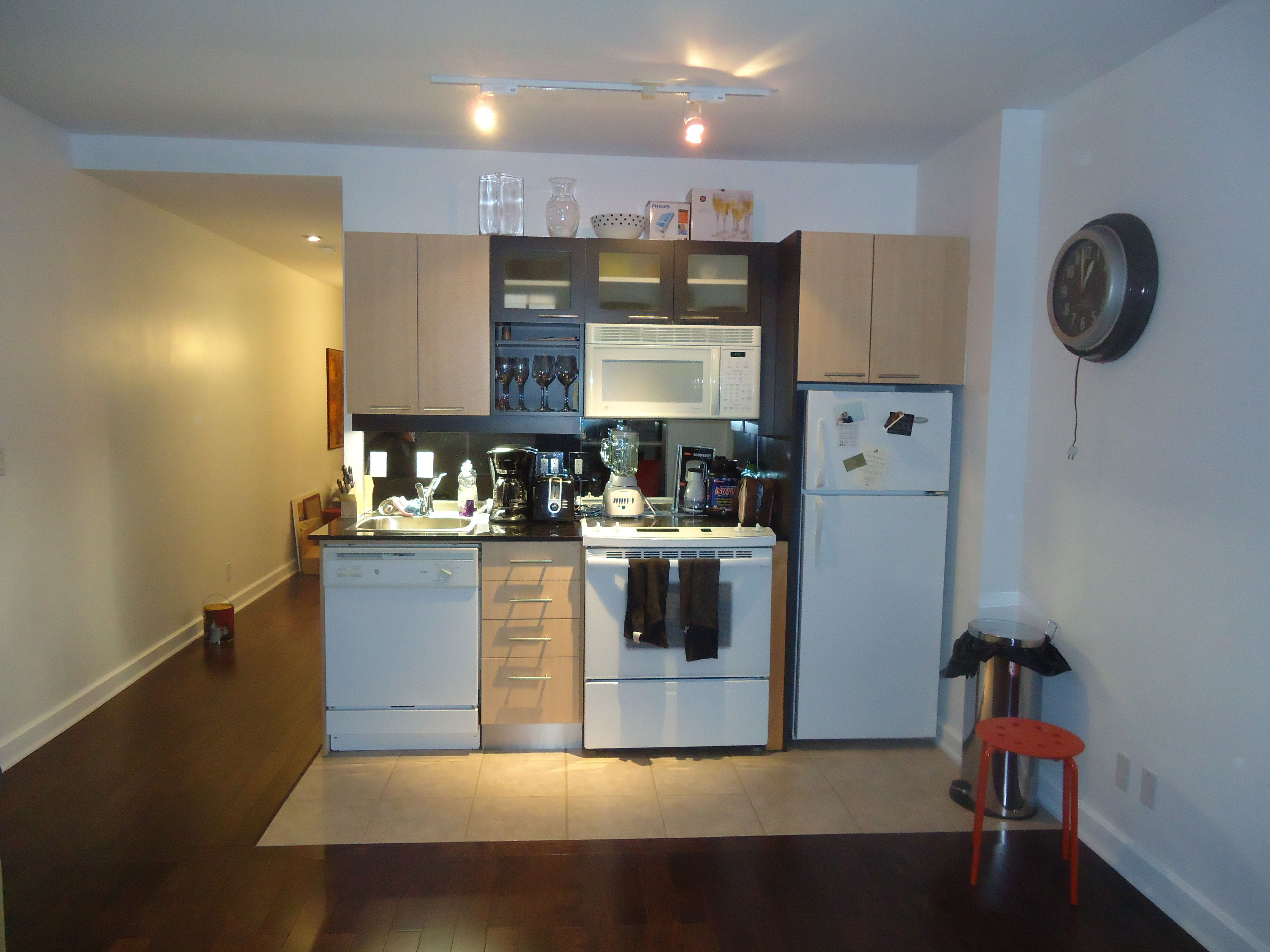 Best Single Wall Kitchen Layout In Home Design Ideas with