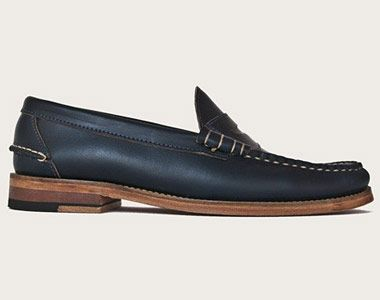 f809269dabe Navy Penny Loafers  fashion  style  shoes