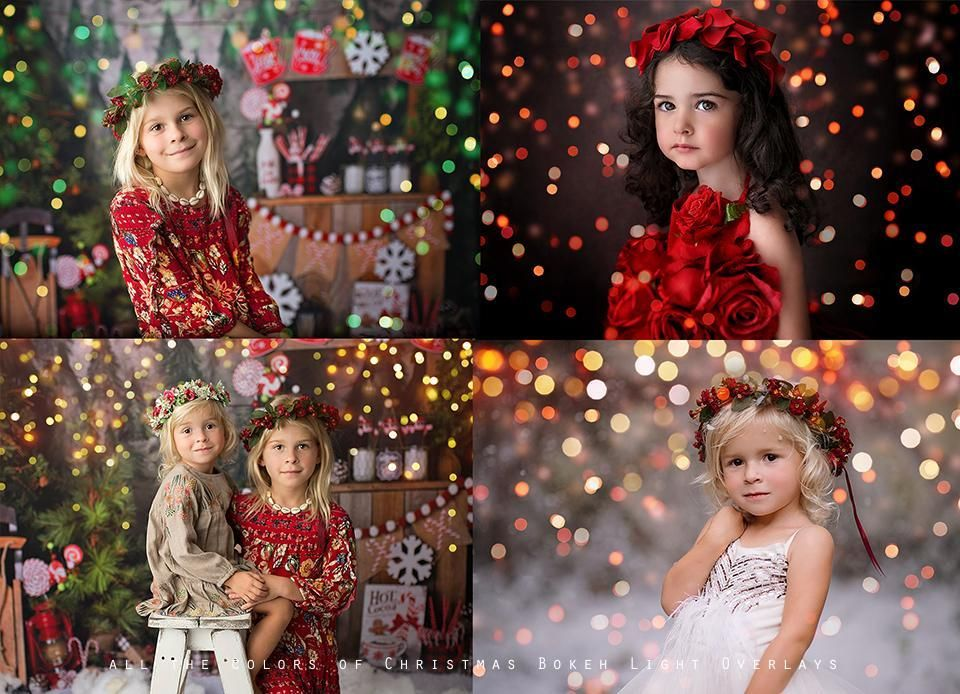 All The Colors Of Christmas Bokeh Light Overlays Christmas Photos Bokeh Bokeh Overlay