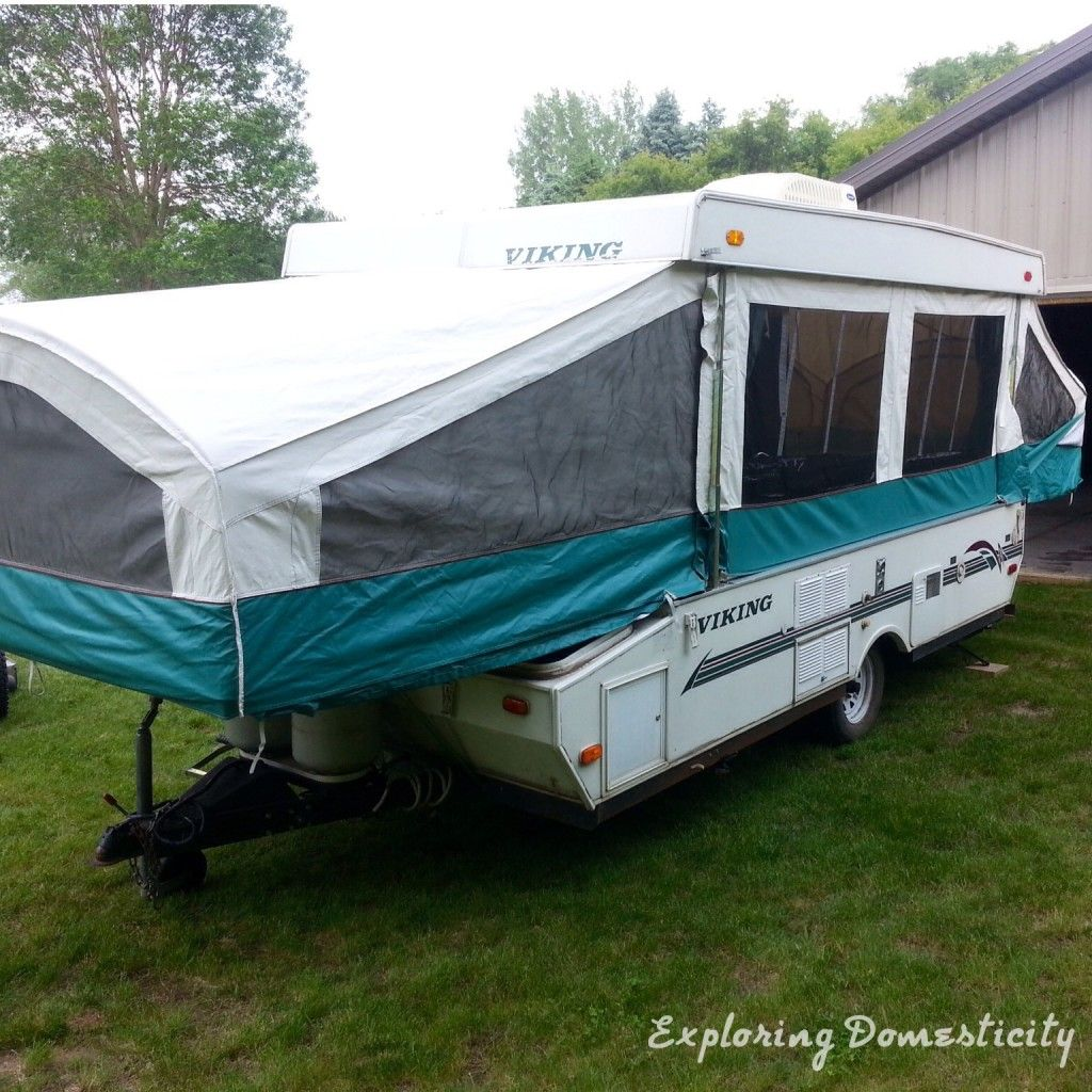 Pop Up Camper Remodel An Introduction To My New Baby Remodeled