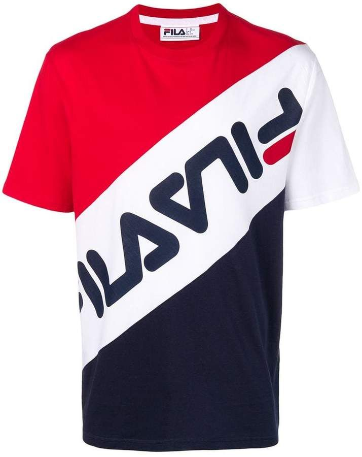 75e5813c Fila contrast logo T-shirt | For My Son in 2019 | Shirts, T shirt ...