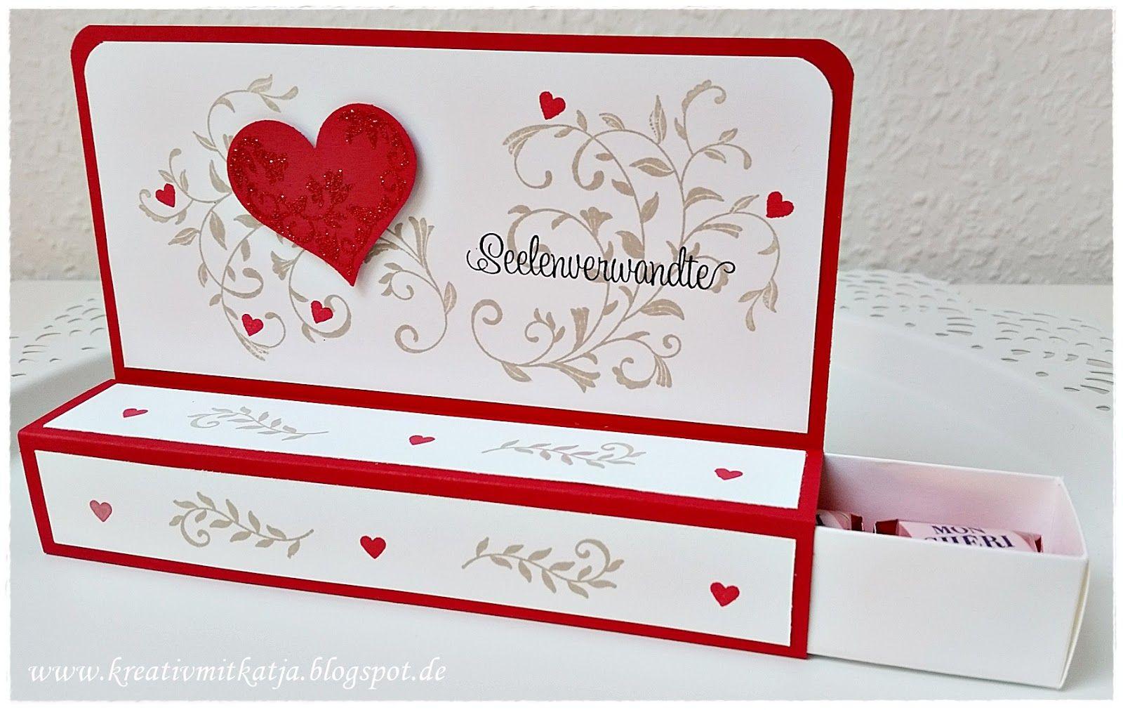 Valentinstag #Stampin up # Mon Cheri #Auf den ersten Blick ...