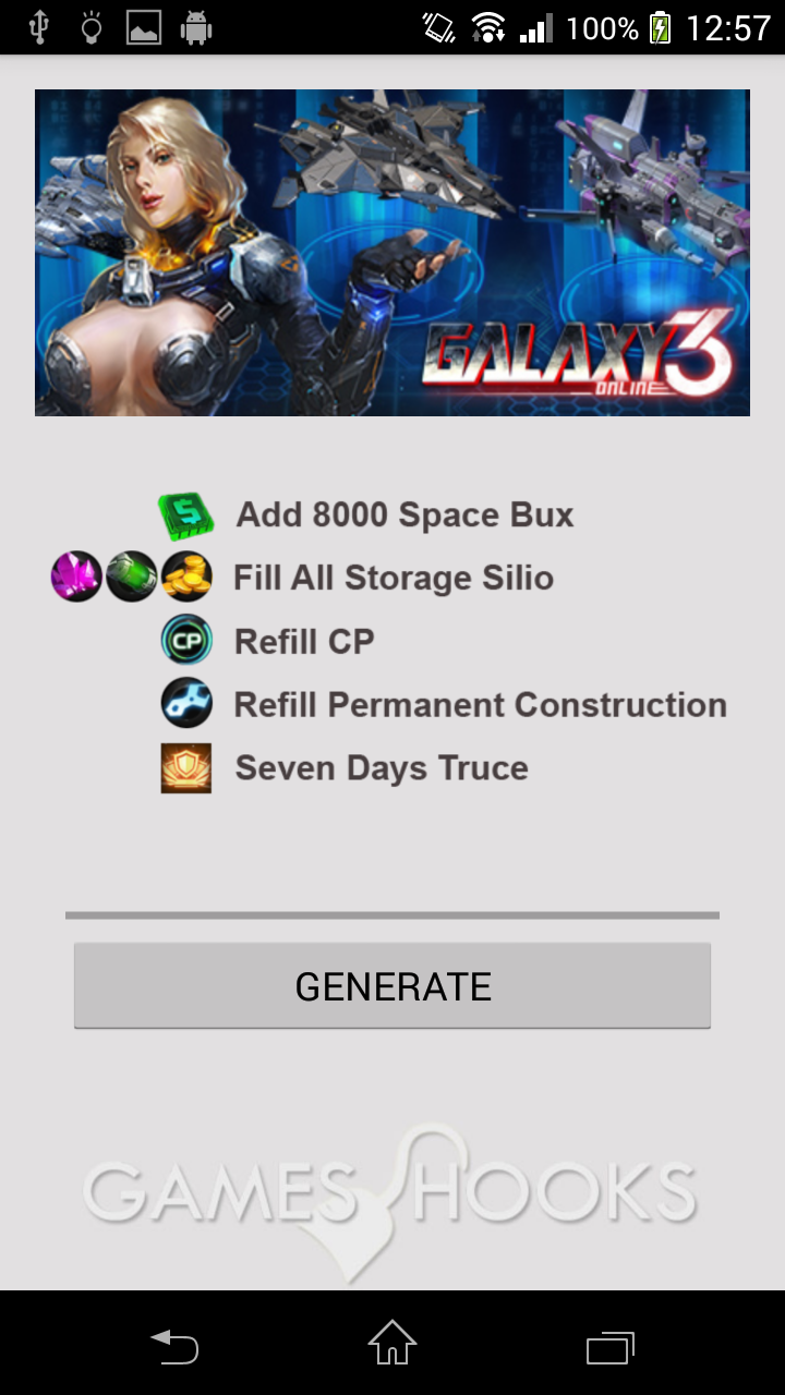 Galaxy Online 3 Hack (Android apk) Games Hooks