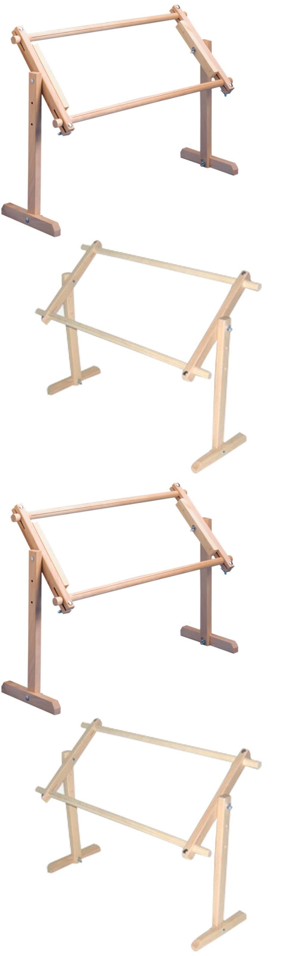 Hand Embroidery Hoops and Frames 160721: Needlework Stand Lap Frame ...