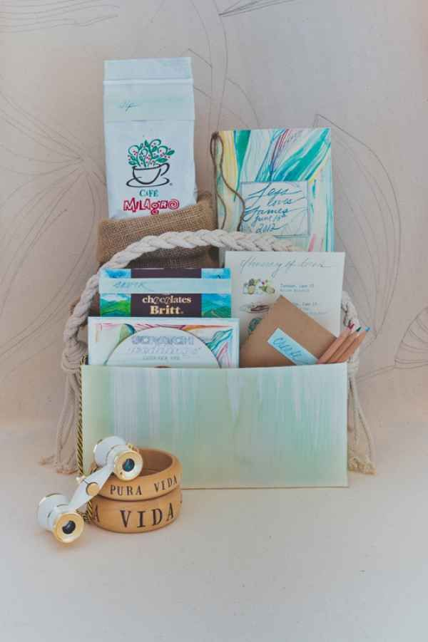 10 Creative Welcome Bag Ideas Unique Wedding Gift Bags For Destination Weddings Costa Rica
