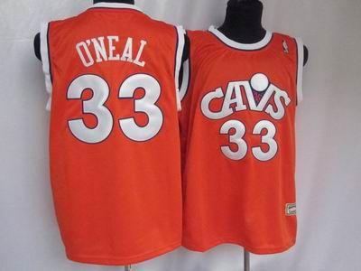 Cleveland Cavaliers  33 Shaquille O Neal Cav orange Jersey 19.5 ... 13fb52c04