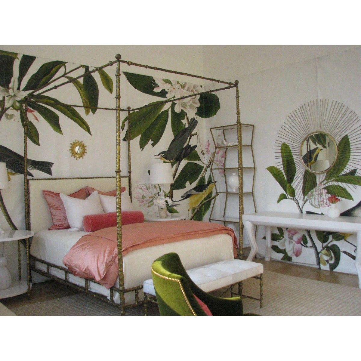 Oly Studio Diego Bed Candelabra Inc Luxury Bedding Master Bedroom Bedroom Design Tropical Bedrooms