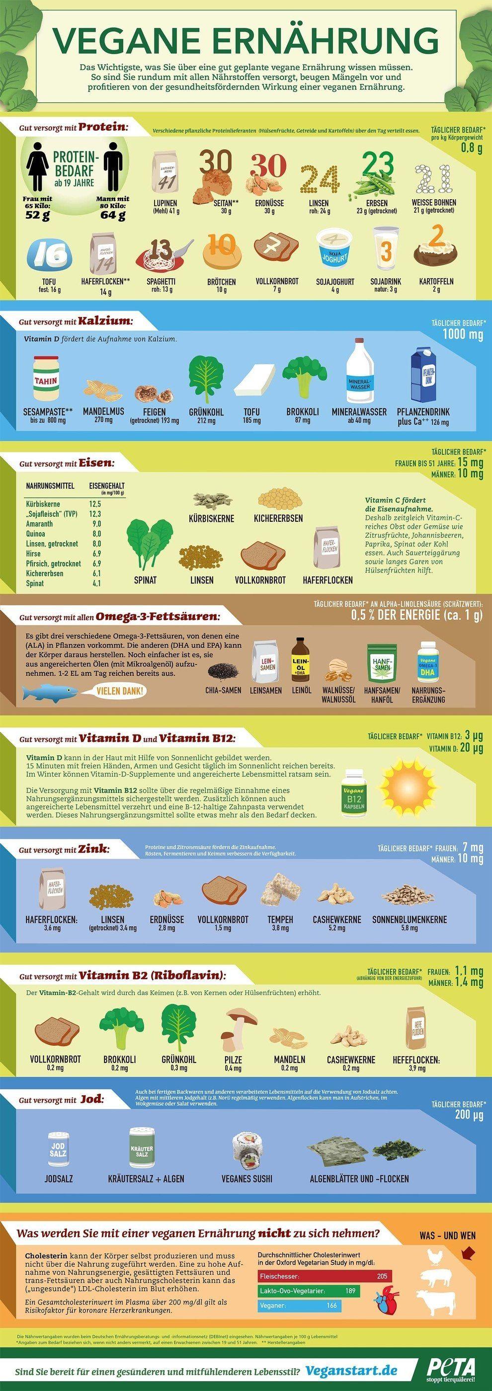 Vegane Ernährungsweise – Die wichtigsten Nährstoffe aufwärts vereinen Anblick    4 besten Übungen z...