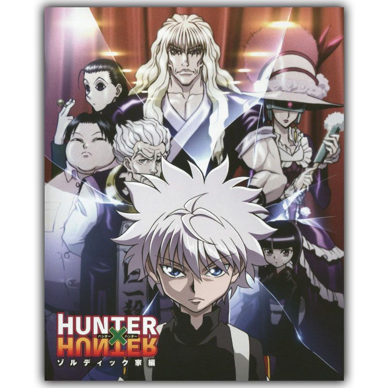 Hunter x Hunter Anime Art Wall Scroll Silk Fabric Poster 60x90cm 001