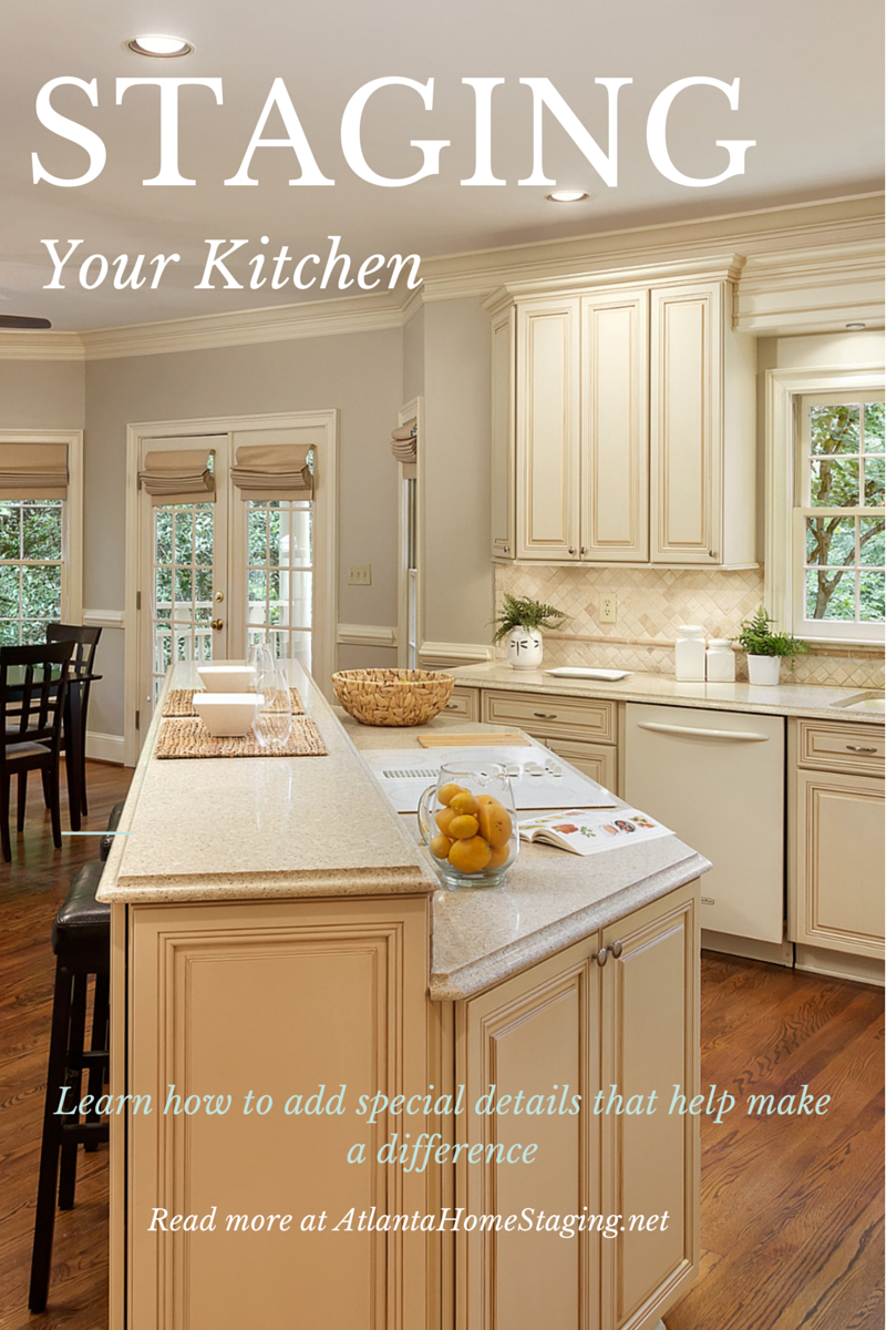 How To Stage Your Kitchen For Sale