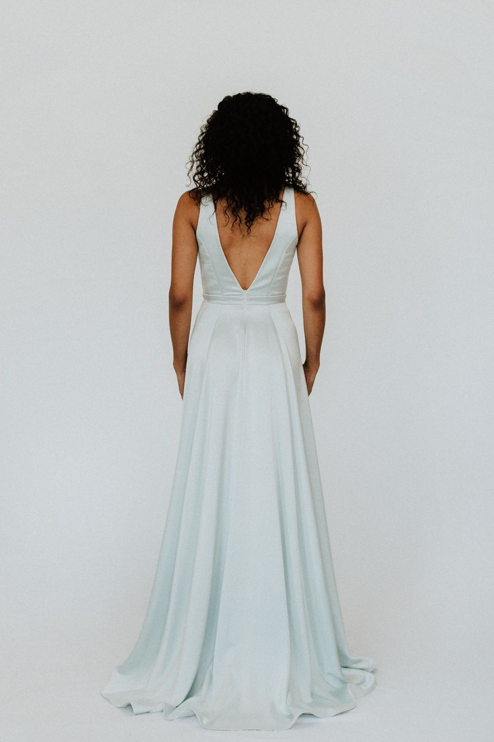 Light Blue Wedding Dress from Love